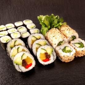 vegetarian set sushi93