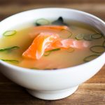 Miso Suppe Lachs