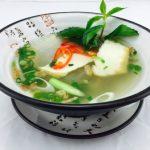 Glasnudelsuppe Tofu